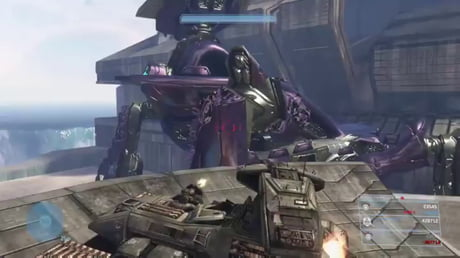 Ten years I've been dreaming of this Scarab takedown (Halo 3)