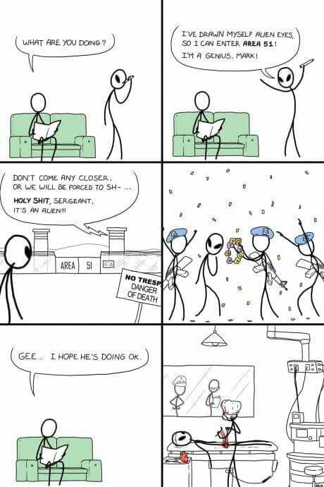 Area 51 in a nutshell!