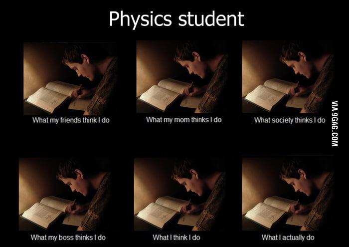 Physics student