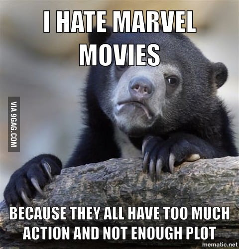 It Kinda Sucks Being A Dc Fanboy In The Era Of Marvel Movies 9gag