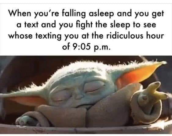 When Someone Texts Late At Night 9gag
