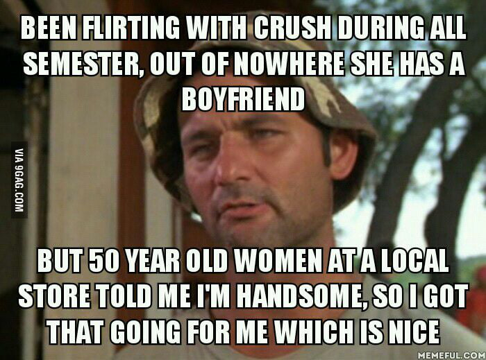 bad luck with women