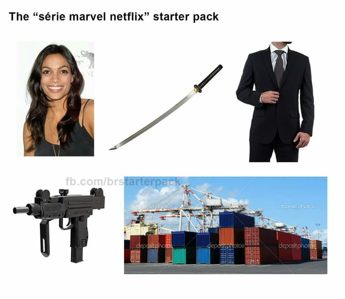 Marvel series starter pack