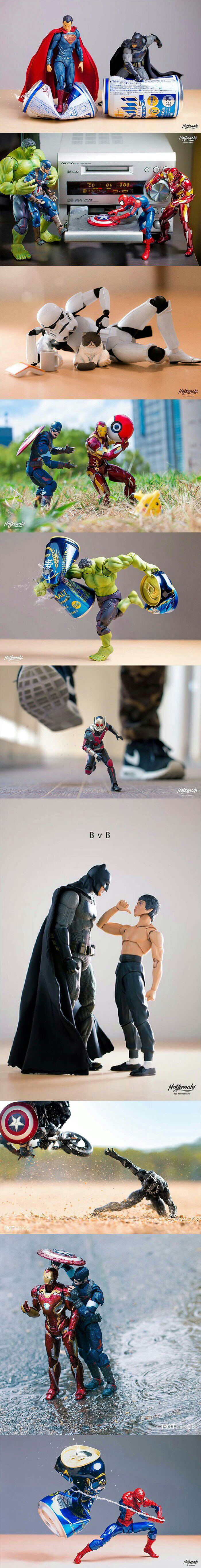 Great use of action figures