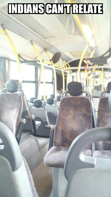 An empty bus took me home