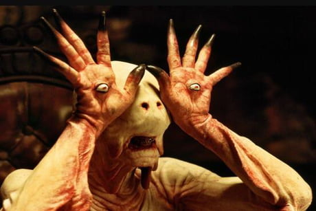 """The Pale Man represents all evil feeding on the helpless"" - Guillermo Del Toro"