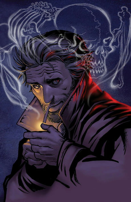 The man who scammed the Devil and black mailed God.any Constantine fans out there?