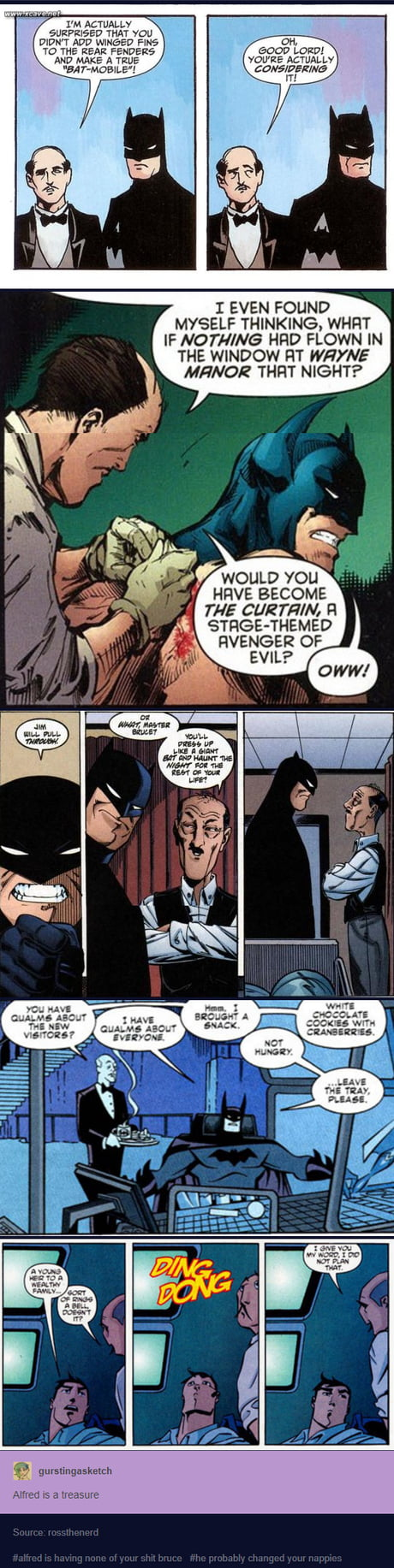 Alfred Pennyworth is a Treasure