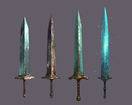 Name the most iconic or famous swords from a game series! I'll start with the Moon Light Great Sword!
