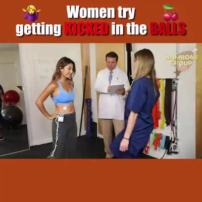 Women try getting nutcracker