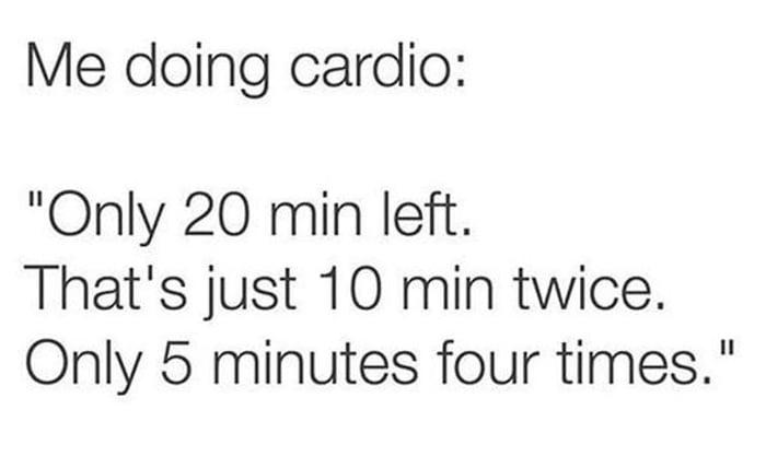 Who esle hates cardio?