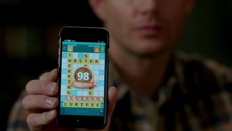 Watching supernatural, when suddenly in scrabble, I found an anagram
