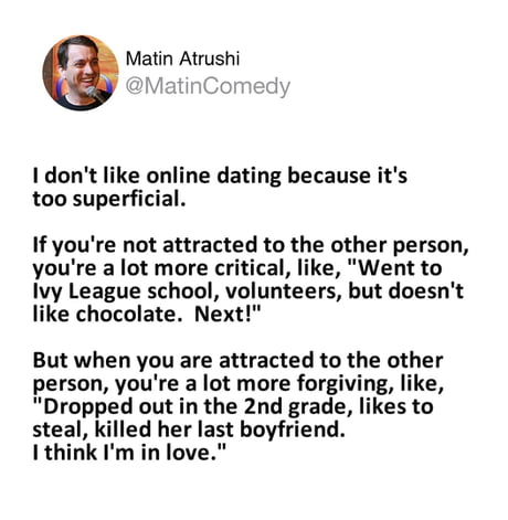 online dating likes
