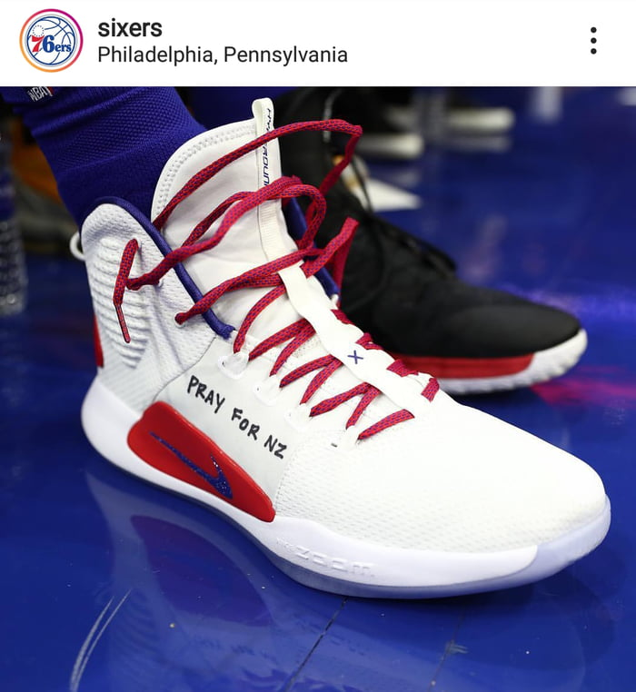 pretty nice 33dc0 fb0b5 Ben Simmons in the Hyperdunk X with a heartfelt message for New Zealand