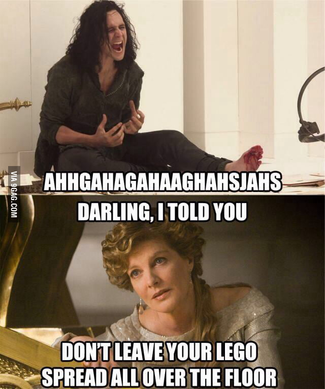 Loki vs The Lego...