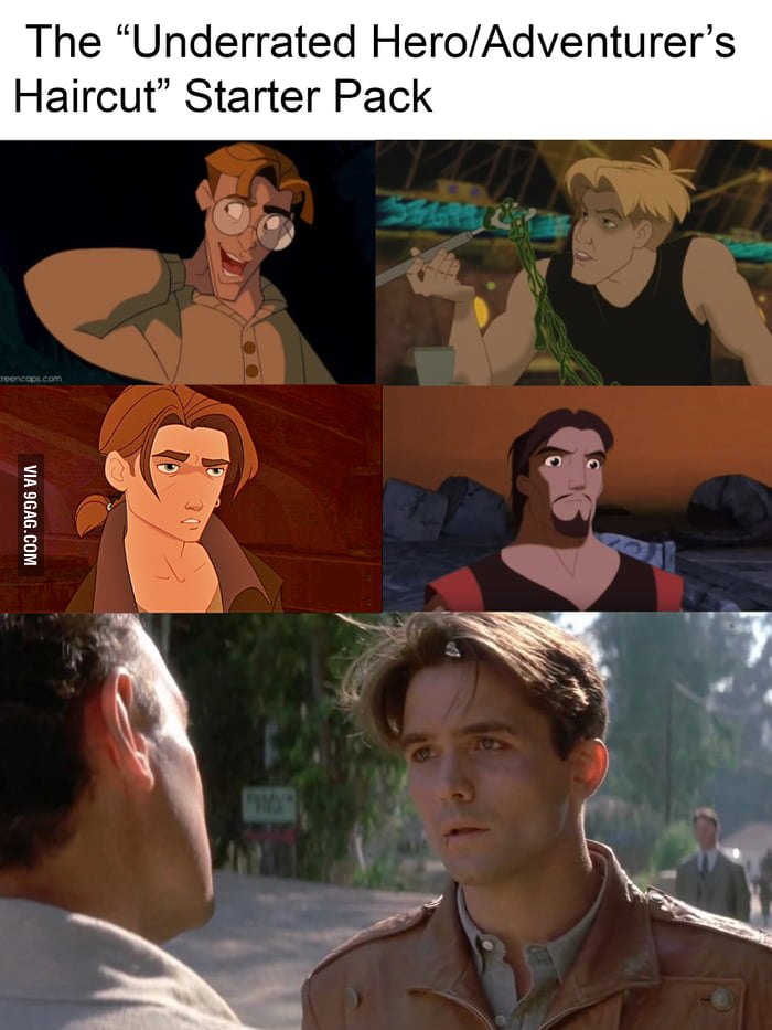 The Hairstyle Of Underrated Heroes 9gag