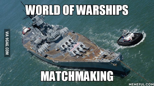 Matchmaking world of warship