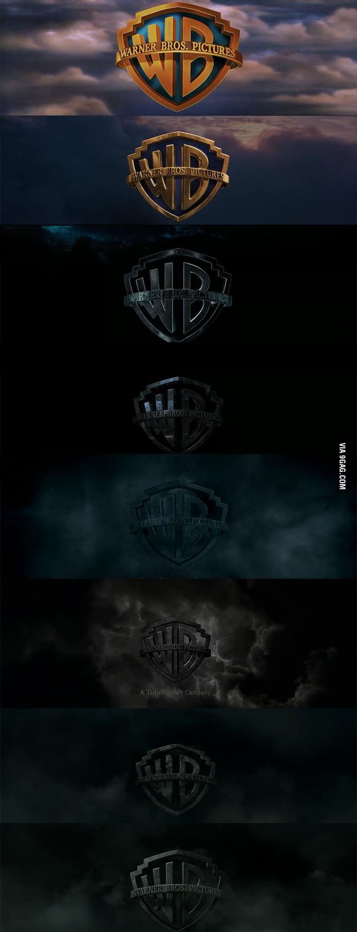 Warner Bros Intro for Harry Potter getting darker. - 9GAG