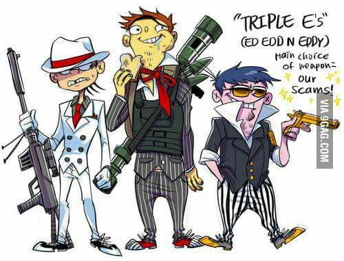 Ed Edd And Eddy Gangsta Style