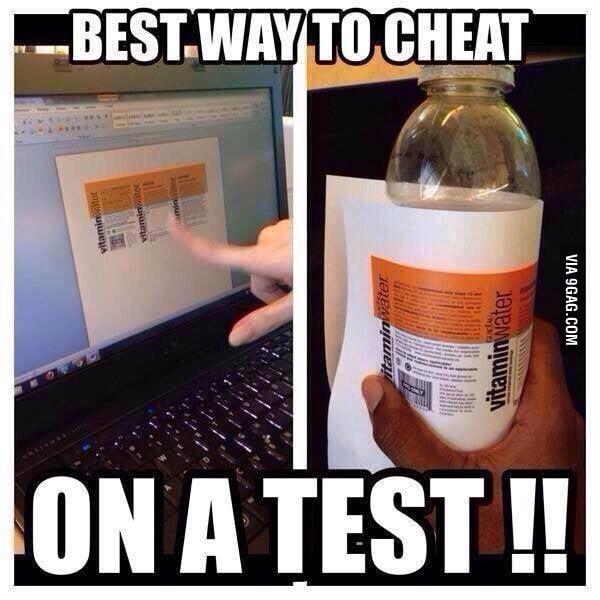 Best way to cheat!