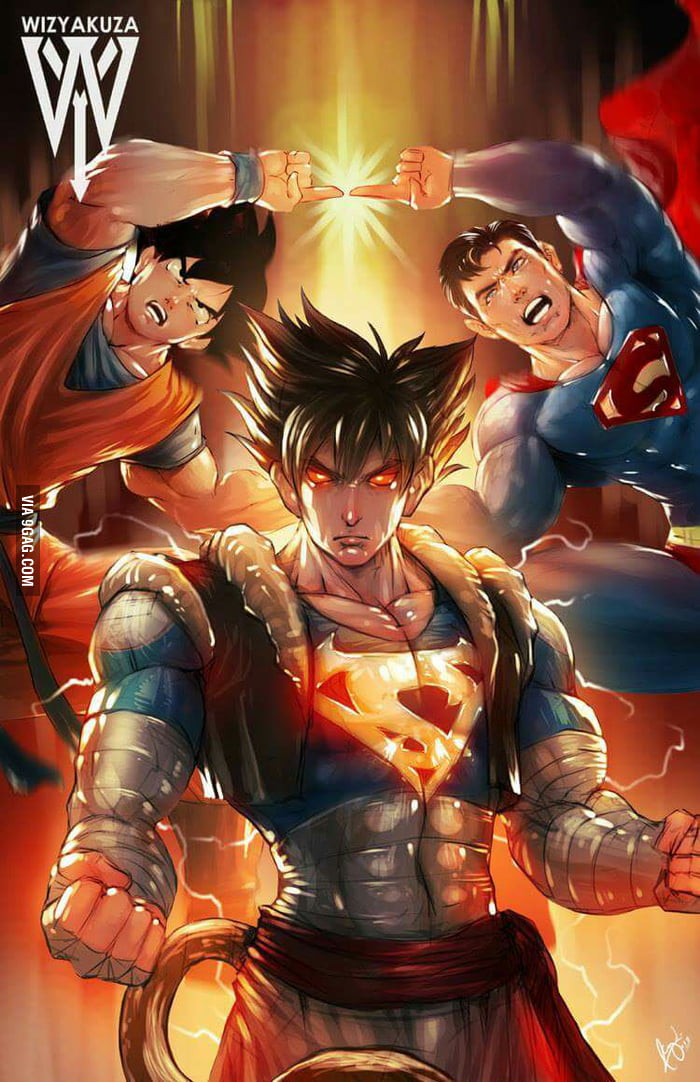No more goku vs superman 9gag for Bergamo toons