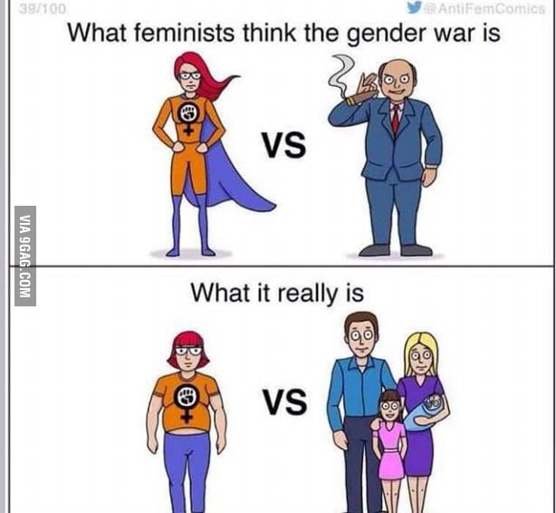 the war for gender equality Is there a gender war going on in the united states there is not a gender war going on funny thing about this gender equality gap thing though.