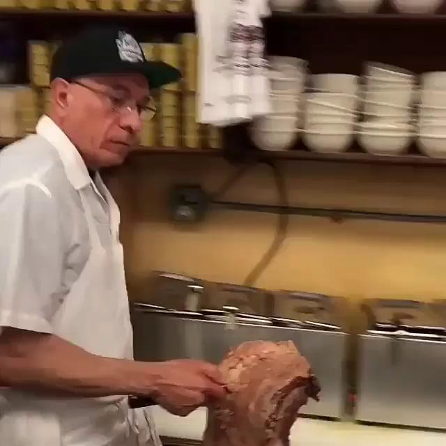 A Delicious Meat Sandwich