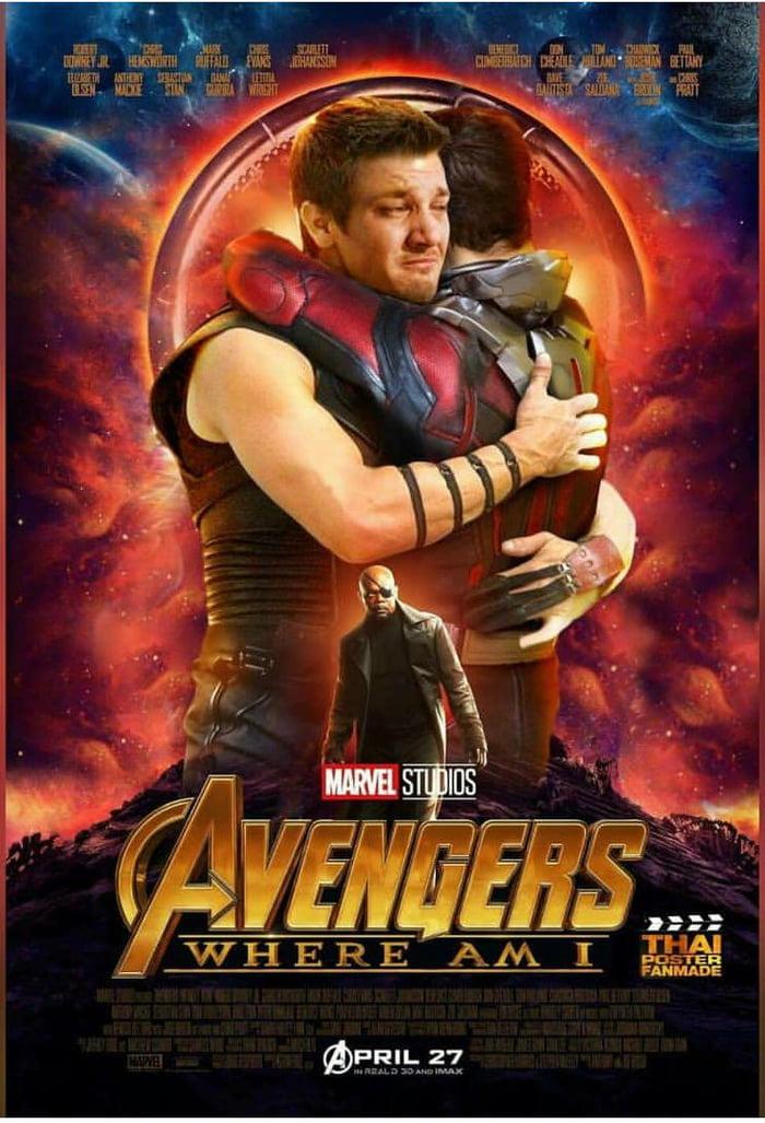 avengers: infinity war. not starring hawkeye, ant-man and nick fury