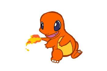 Just a Charmander Chasing His Tail