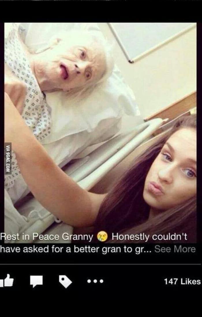 blackmail granny