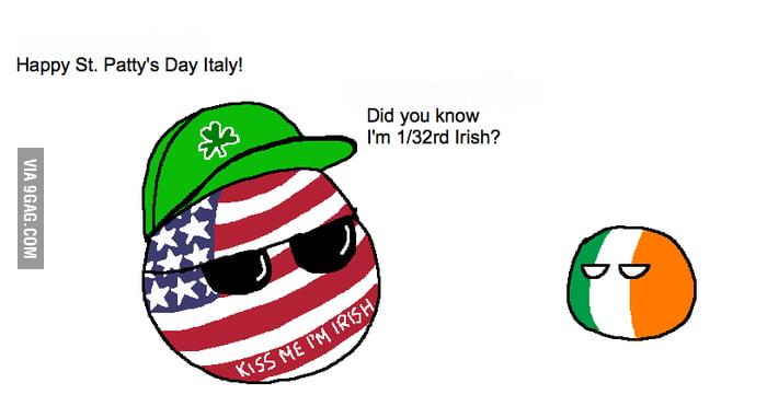 be94c05483f Happy St. Patrick s Day Italy!