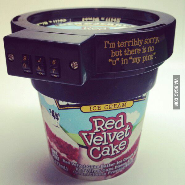 Ben and Jerry actually sell this