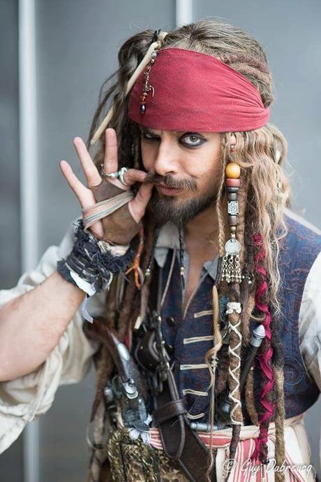 My cosplay Jack Sparrow.