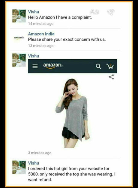 When you order Bob and Vagene online