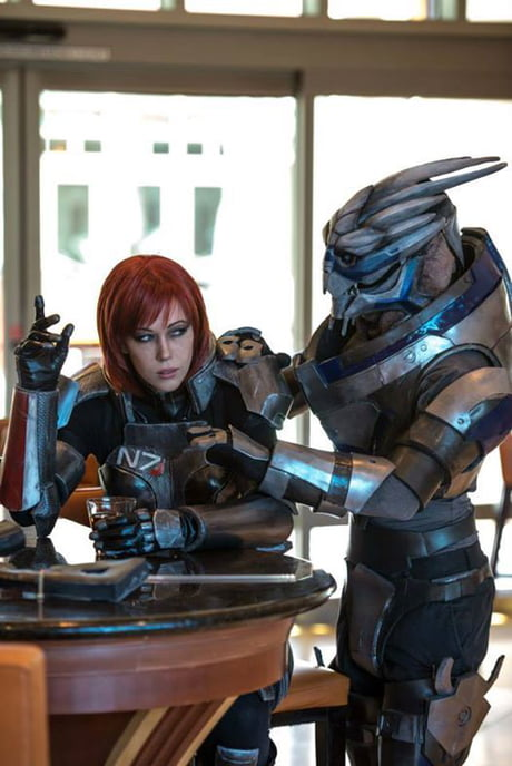 Mass Effect Shepard And Garrus Cosplay 9gag