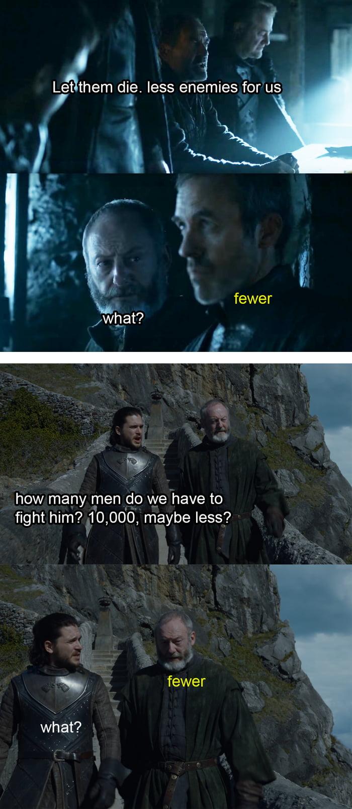 Davos did his homework