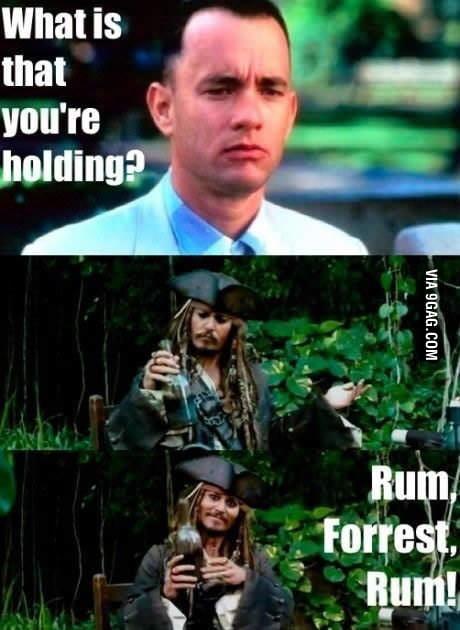 Rum forest rum!
