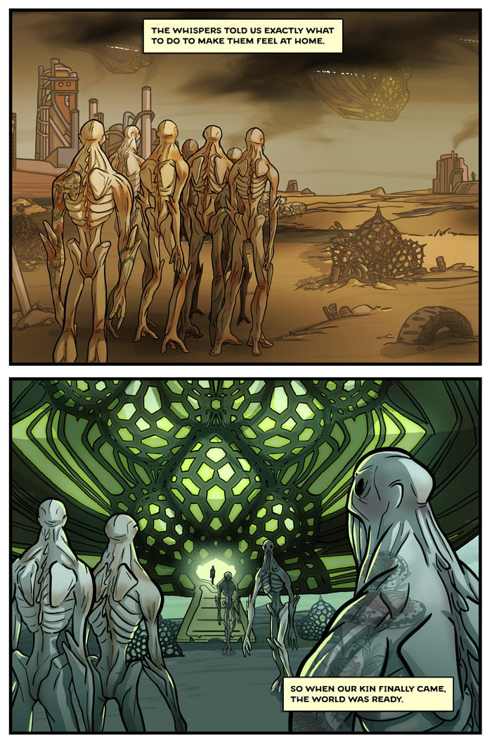 The Signal Written by Ehud Lavski and art by Yael Nathan.