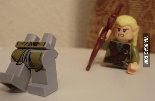Lego Legs Of Legless Lego Legolas 9gag