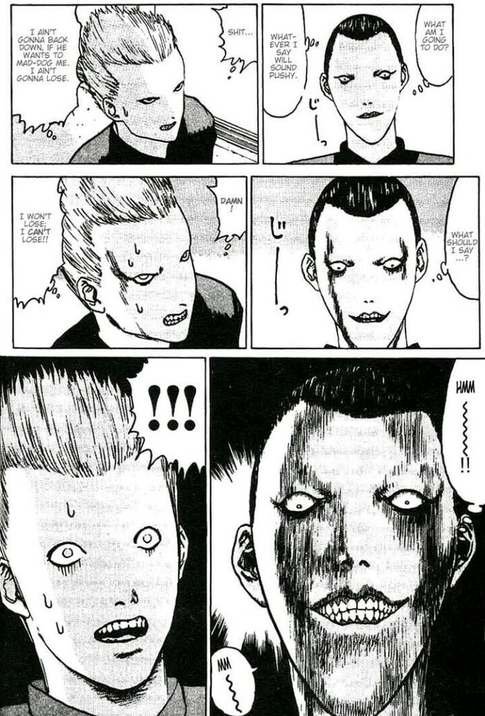 This Manga Is So Damn Funny Lol Sauce Angel Densetsu 9gag