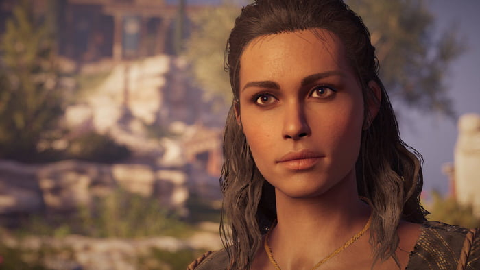 Kyra From Ac Odyssey The Most Beautiful Npc All Categories
