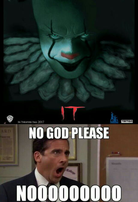 First movie gave me fear for clowns, now remake is coming soon. I couldn't even see the whole fckn trailer