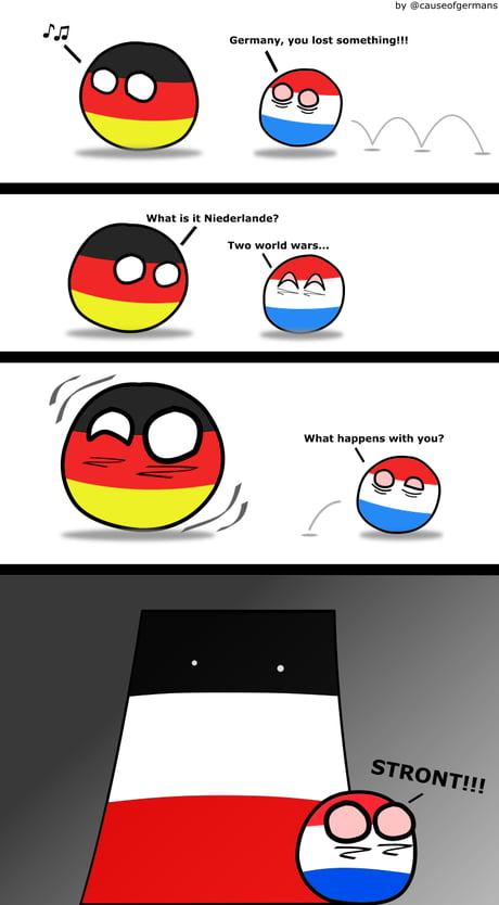Damned Netherlands...don't mess up with DEUTSCHLAND!!!