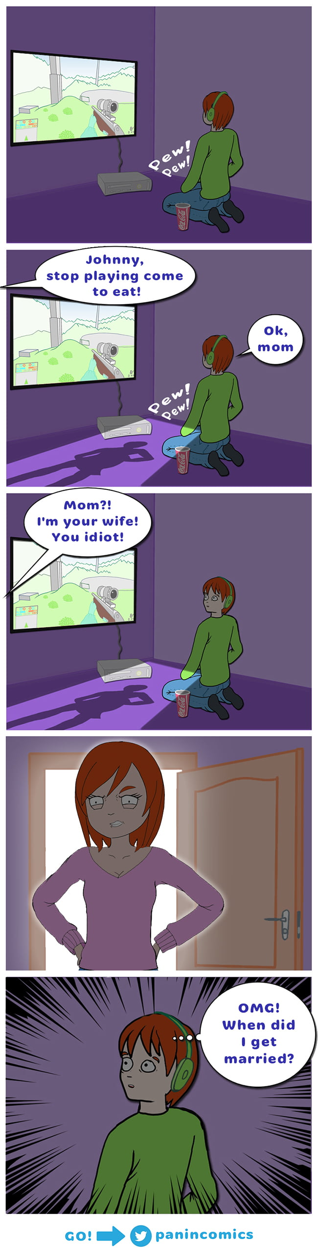 Heh, Gamers will understand