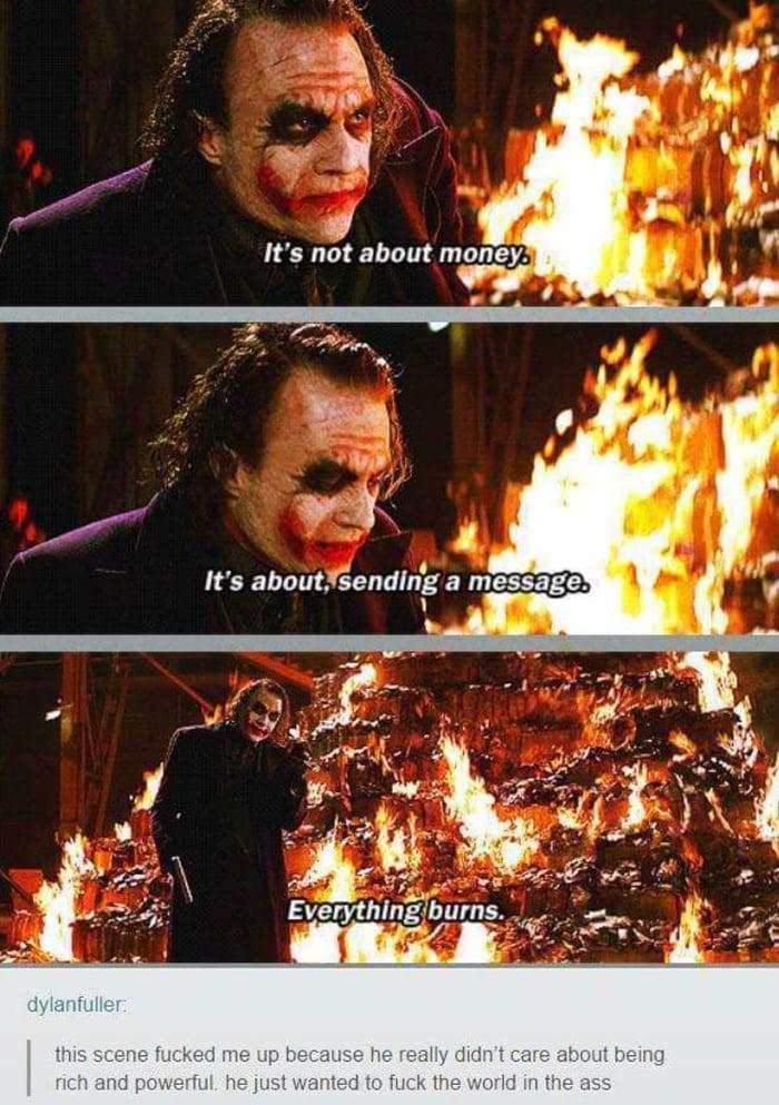 Everything burns. - 9GAG