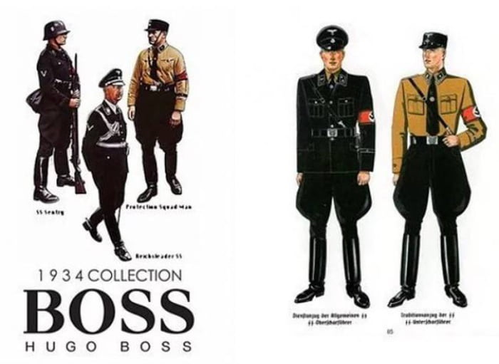 Hugo Boss Was The Designer Of Nazi Uniforms 9gag