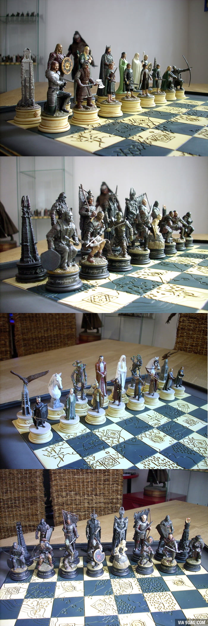 Lord Of The Rings Chess Game 9gag