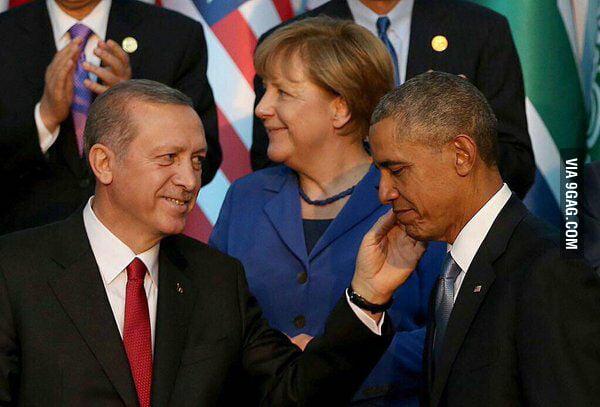 Image result for Obama loves Erdogan