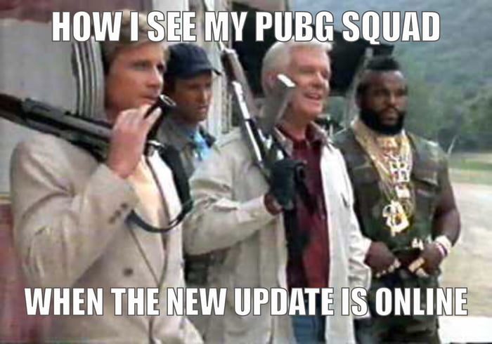 Pubg Memes: The New PUBG Update Will Come With A New Weapon. The Same