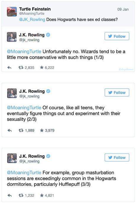 JK Rowling taking it way too far